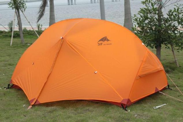 2013 Classic replica msr hiking tent ultra-light 210T 2 persons 3 Season outdoor camping beach Professional Climber tent