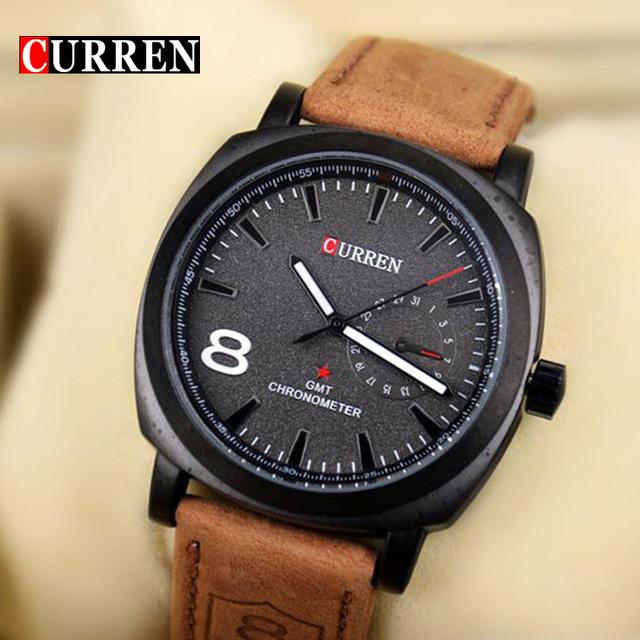 Оригинальный валютам бизнес кварцевые часы мужчины часы армия армия свободного покроя наручные часы кожаный мода качество мужской Relojes хомбре