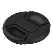Buy camera lens cover 49mm 52MM 55mm 58mm 62mm 67mm 72mm 77mm Snap-On Front Lens Cap/Cover Canon Nikon DSLR lenses rope for $1.13 in AliExpress store