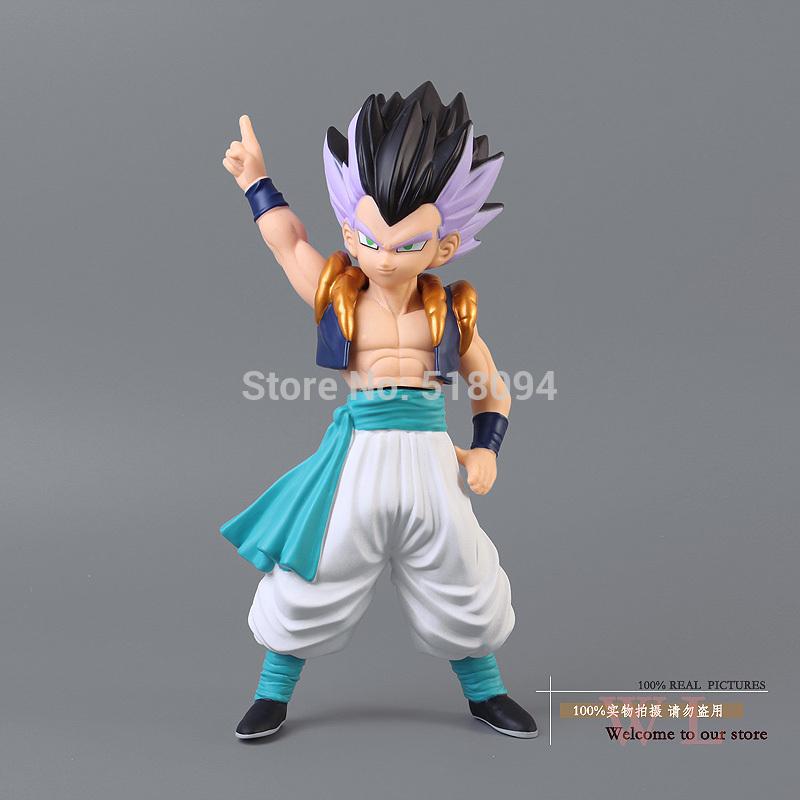 Free Shipping font b Anime b font Dragon Ball Z Gotenks PVC Action Figure Collection Model