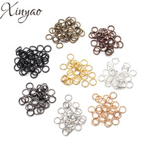 Buy XINYAO 200pcs/bag 4 6 8 10 mm Metal Jump Rings Silver/Gold/Bronze Color Split Rings Connectors Diy Jewelry Finding Making for $1.00 in AliExpress store