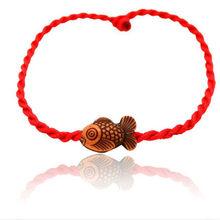 Lucky Rope bransoletka dla kobiet mężczyzn kochanka prezent dla par sprzedaż 2019 moda hurtownie wiele stylów czerwony nici String bransoletka(China)
