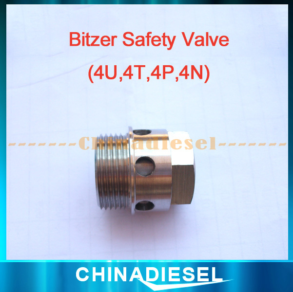 Hot Sale Bus Air Conditioning Bitzer Compressor Safety Valve Bitzer suction filter 4NFCY New Suit Bus A/C(China (Mainland))