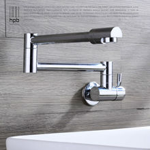Buy HPB Brass Chrome Wall Mounted Cold Water Kitchen Tap Pb-free Sink Faucet torneira cozinha HP9105 for $45.90 in AliExpress store