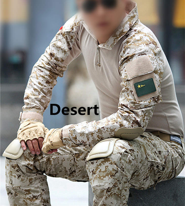 Tactical--uniform-clothing-army-of-the--combat-uniform-tactical-pants-with-knee-pads-camouflage (2)