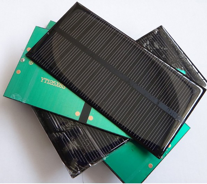 Mini 6v 1w Solar Panel Solar System Module Diy For Battery