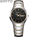 2016 GIMTO Luxury Top Brand Men s Watch tungsten steel Wrist Watch waterproof Business Quartz watch