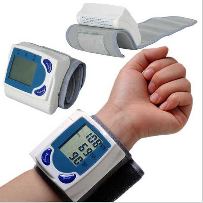 Pulso Digital automático Monitor de pressão arterial e Heart Beat medidor