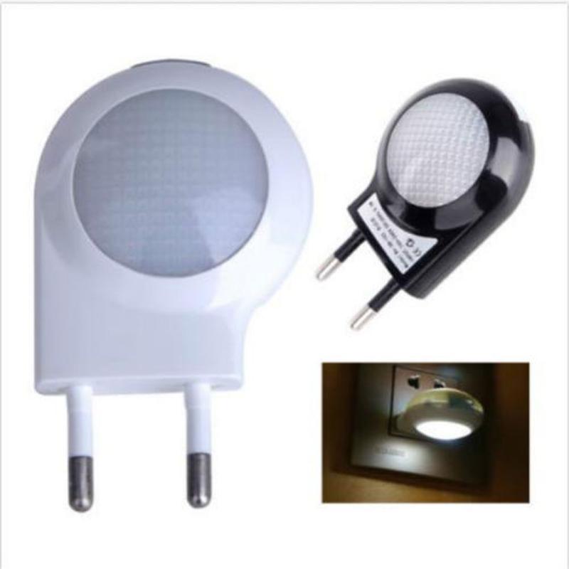 Plug In Decorative Wall Lights : EU Plug Romantic Auto Sensor LED Wall Night Light Lamp Home Decor Baby Nursery 2016 Free ...