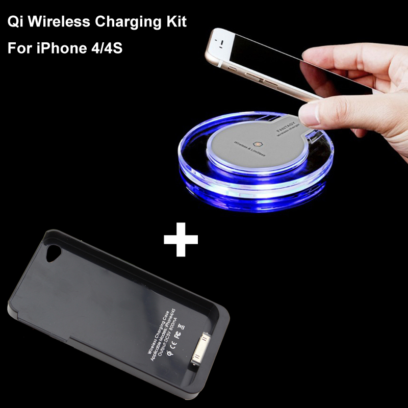 Qi Wireless Charger Plate Charging Case Receiver For