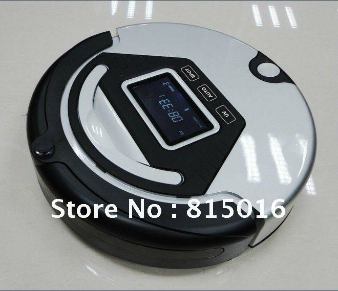 4 In 1 Multifunctional Robot Vacuum Cleaner (Sweep,Vacuum,Mop,Sterilize),LCD,Touch Button,Schedule Work,Virtual Wall,Auto Charge