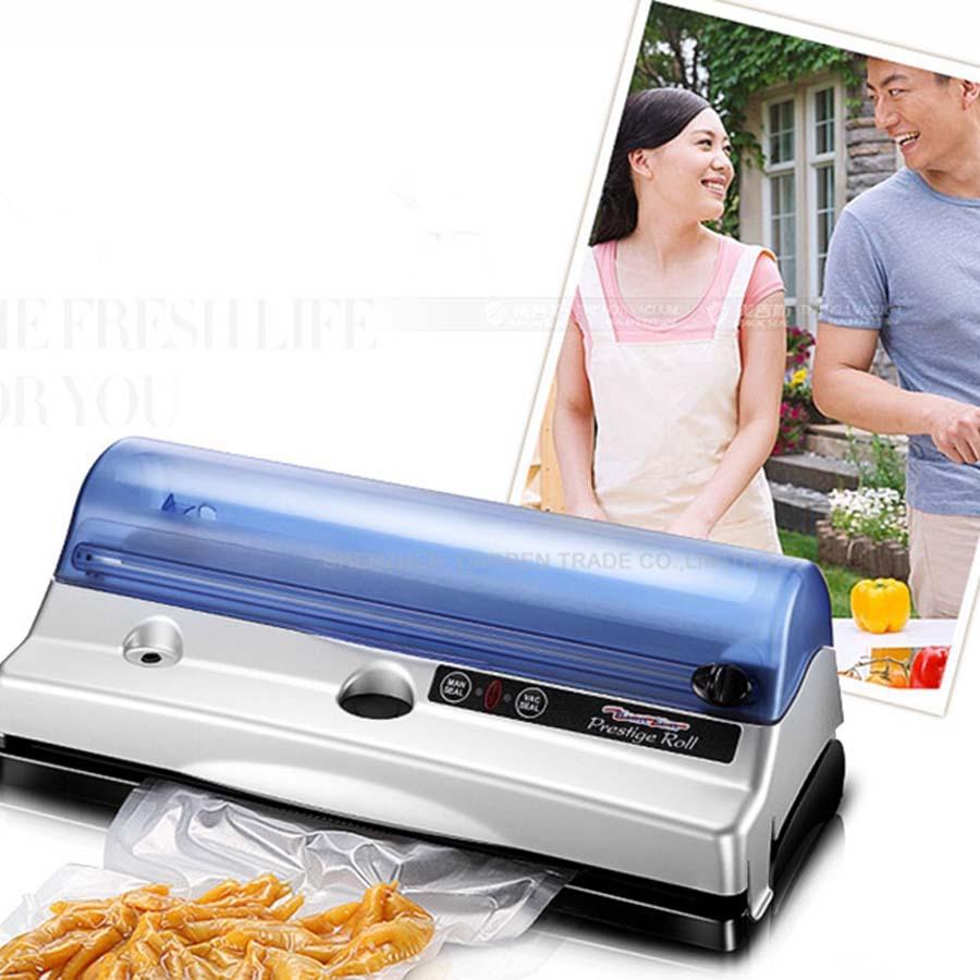 1pc free ship by DHL Household Vacuum Sealer/FoodSaver/Home food vacuum sealer machine bag seal machine(China (Mainland))