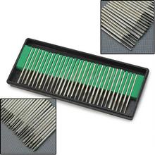 Portable 30 unids Bits de fresa de diamante taladro para aguafuerte herramienta rotativa Dremel Set herramientas eléctricas 5H1Z