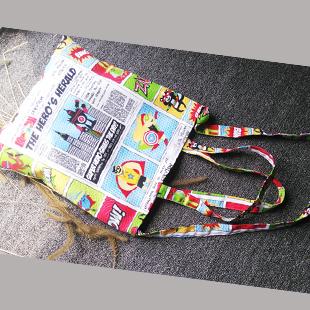 15 Super Man Canvas Cotton Bag Female School Messenger Bag Eco-friendly ShoppingBag Handbag Cartoon Satchel Shoulder Women's Bag(China (Mainland))