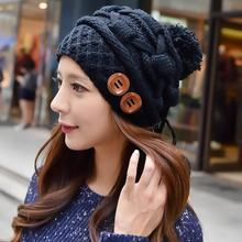 New  Fashion Winter Warm Knits Women Hat Female Caps Cute Hot Style Classic Beanies