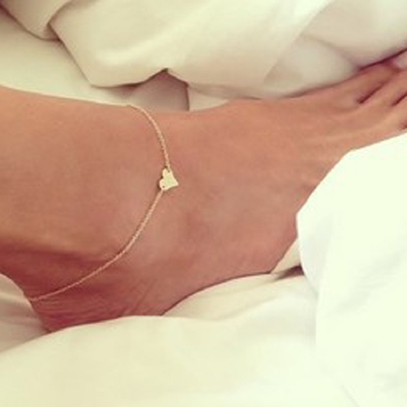 pin with feminine tiny stirling bracelets silver bell bracelet sterling ankle female anklet delicate