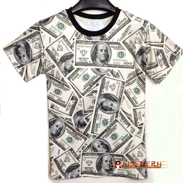 Money t shirt reviews online shopping money t shirt for How to make a shirt with money