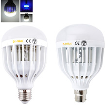 Buy LED Bug Zapper Light Bulb 10W Mosquito Killer Bulb B22 E26/E27 Wasp Bug Mosquito Flying Insects LED UV Lamp for $11.90 in AliExpress store