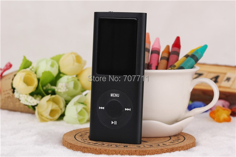 800pcs/lot HOT sale NEW 1.8 inch 8GB 4TH GEN MP3 MP4 PLAYER with retail box FREE SHIPPING(China (Mainland))