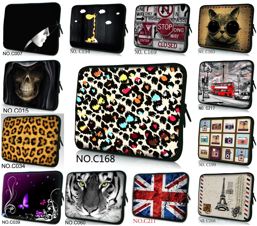 "10"" 10.1"" Laptop Sleeve Bag Netbook Case For Archos Arnova G2 10b / iPad 1 2 3 4/ASUS Eee Pad Transformer TF101 TF201(China (Mainland))"