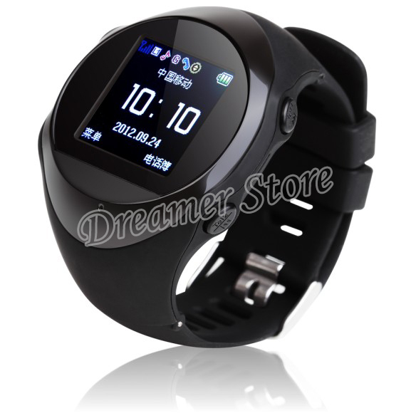 Bluetooth GPS Built-in Smart Watch Phone Wearable Hand-free Wristwatch Cell Phone Mate PG8(China (Mainland))