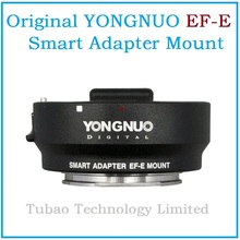 Buy NEW YONGNUO Smart Adapter EF-E Mount CAN EF Lens Sony NEX Smart Adapter Mark III EF E-Mount for $121.00 in AliExpress store