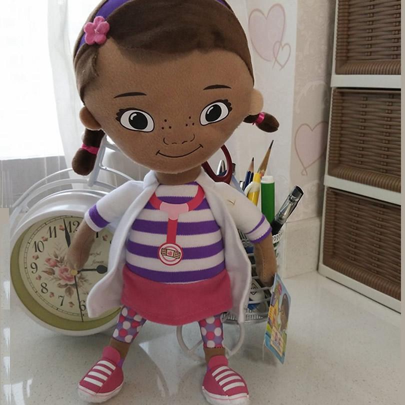 Original Doc McStuffins plush soft toys,32cm=12.6inch Doc McStuffins Dottie girl plush for Children & Kids & baby gift