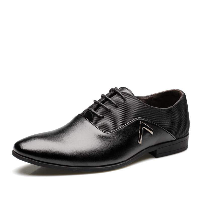 2013 New Fashion Brand Men S Dress Shoes Leather Business Casual Flats