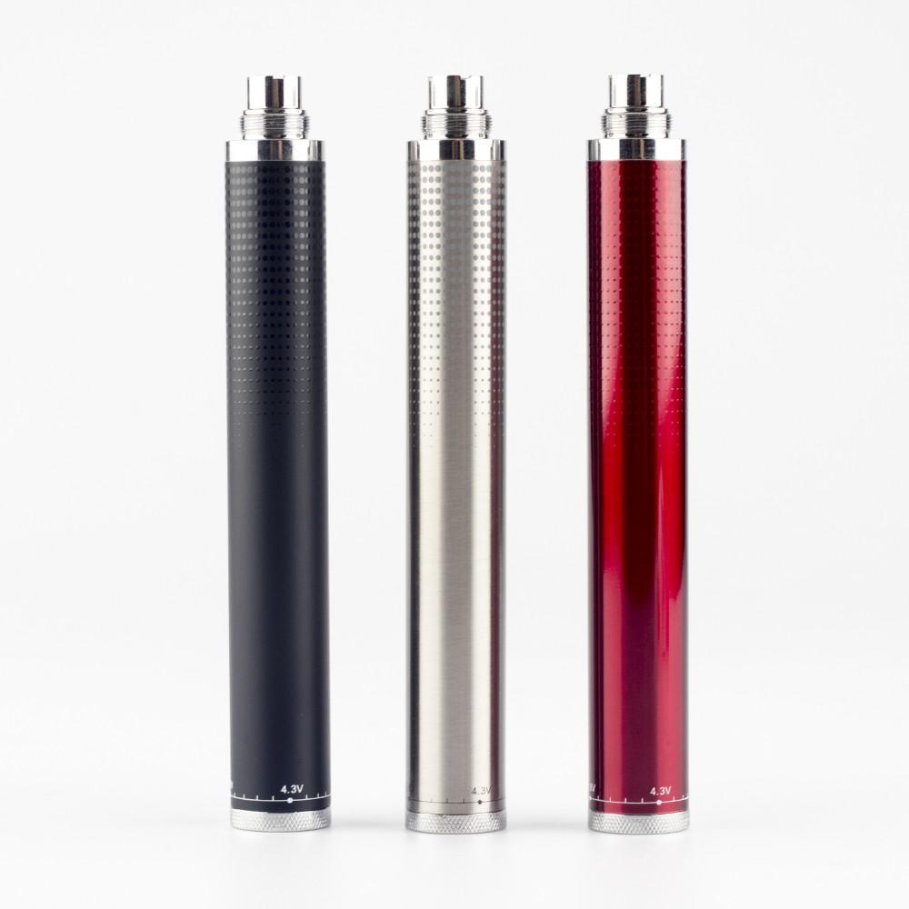 ถูก ที่มีคุณภาพสูง1600มิลลิแอมป์ชั่วโมงEvodบิดแบตเตอรี่บุหรี่อิเล็กทรอนิกส์แรงดันไฟฟ้าตัวแปรอาตมา-Vแบตเตอรี่3.2-4.8โวลต์Eบุหรี่แบตเตอรี่Jomo-52