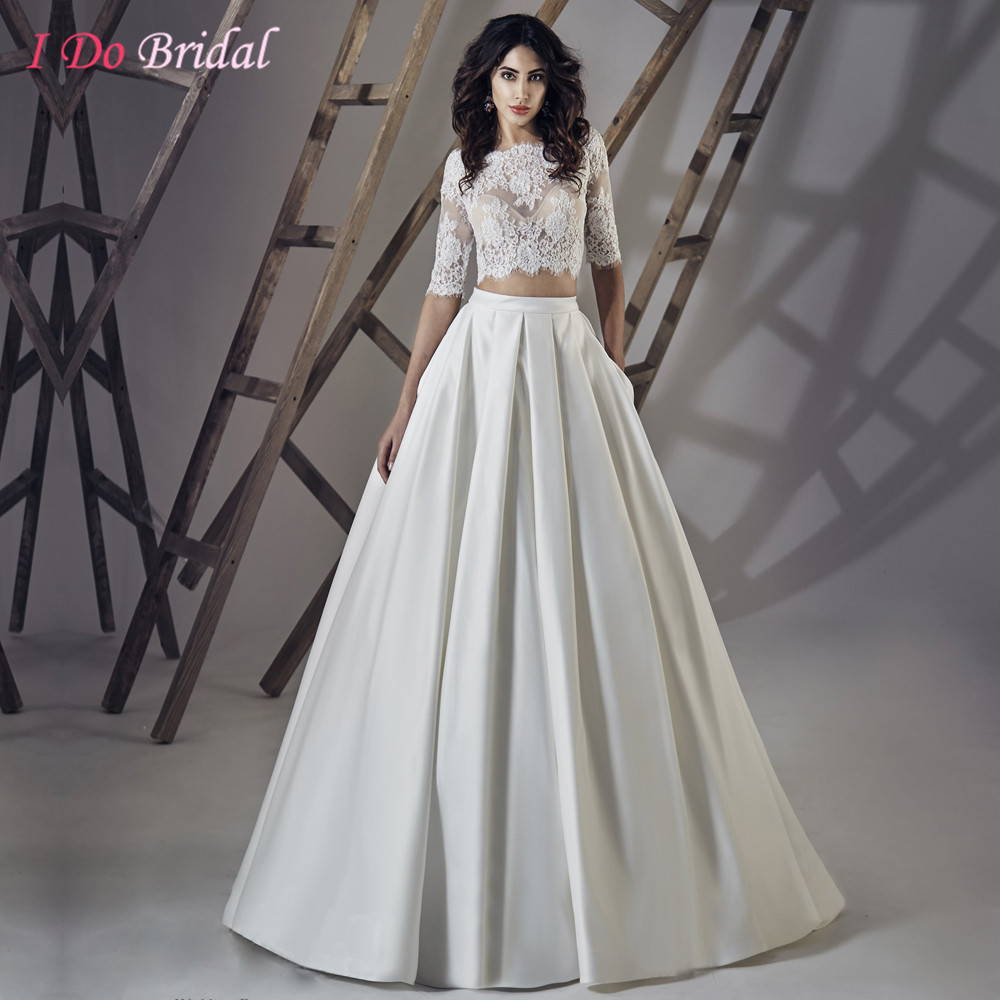 wedding dresses wedding dress 2 piece Zoe Wedding Dress