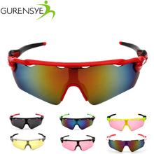 Buy Gurensye Cycling Glasses Bike Goggles women/men Outdoor Sports Sunglasses UV400 Big Lens Gafas Sunglasses Oculos Ciclismo for $2.37 in AliExpress store