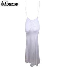 Buy Love&Lemonade Sexy White V-Neck Halter Boycon Party Dress TB 8793 for $32.99 in AliExpress store