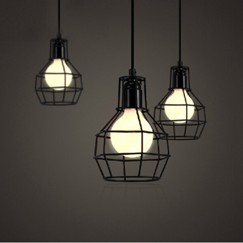 2pcs lot vintage pendant light loft industrial bar kitchen home decoration e27 edison light - Industrial lighting fixtures for kitchen ...