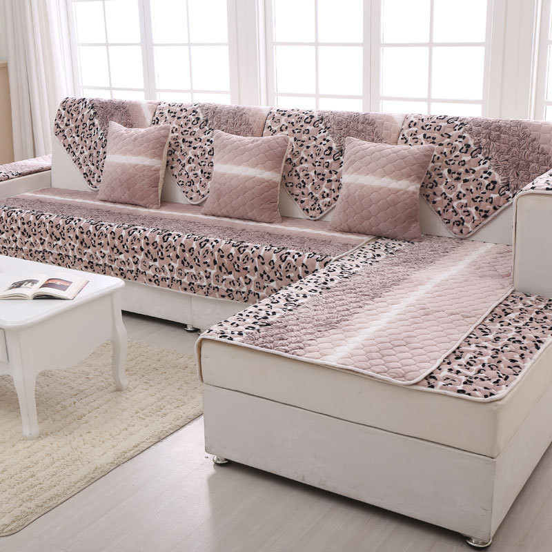 buy flannel sectional sofa slip cover