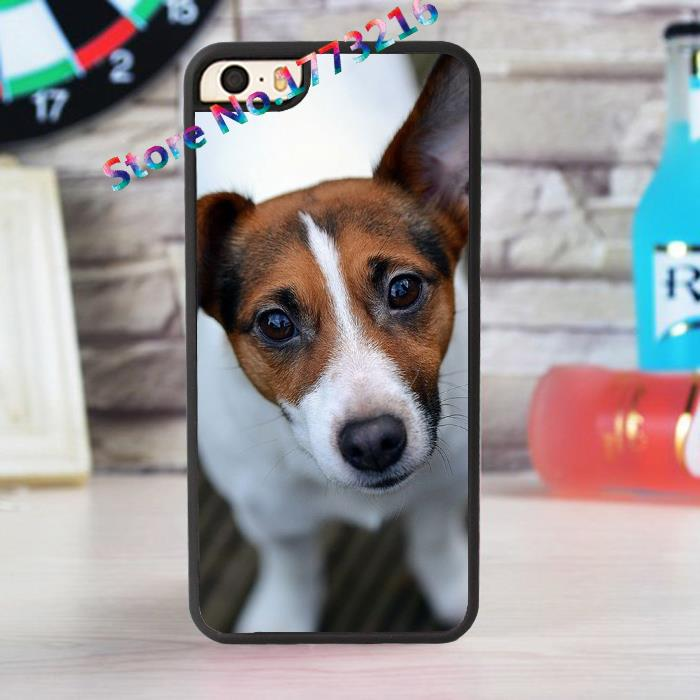 jack russell dog puppy 2 fashion case for iphone 4 4s 5 5s SE 5c for 6 & 6 plus 6S & 6S plus *AI116(China (Mainland))