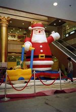 Buy Vivid Inflatable Santa Claus 6m for $730.84 in AliExpress store