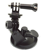 GoPro accessories Mini Windshield Car Suction Cup Holder Mount Stand Tripod Monopod for GoPro Hero3+/3/2/1 SJ4000 action camera