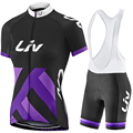 New Pro Team LIV Cycling jerseys 2017 Woman Cycling Clothing Short sleeve Bike jerseys ropa ciclismo