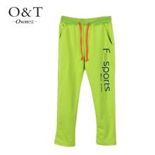 2015 Hot sale Boys fashion sports letters printing long pants school kids children teenage autumn casual trousers wholesale