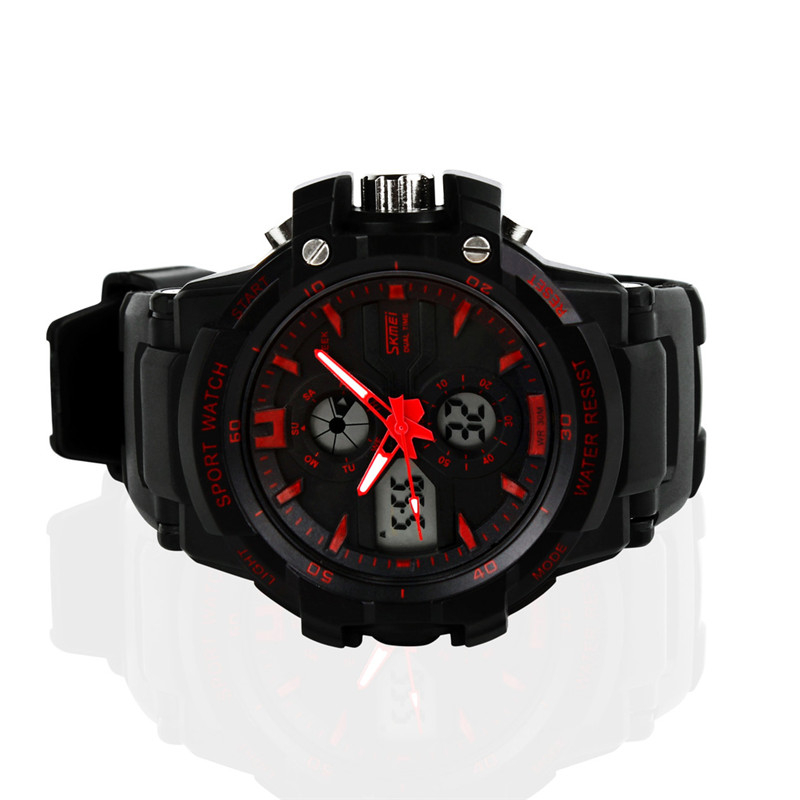 Fashion Digital Watch Military Sport Watches Men Luxury Brand Led Watch Men Quartz Waterproof Relogio Masculino N047