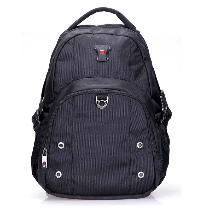 Фотография swiss gear army travel back bag unisex  light big capacity bagpack men travel bags black back pack stylish backpack for women