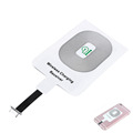 Portable Qi Standard Smart Wireless Charging Charger Coil Receiver For iPhone 5 5C 5S 6 6S