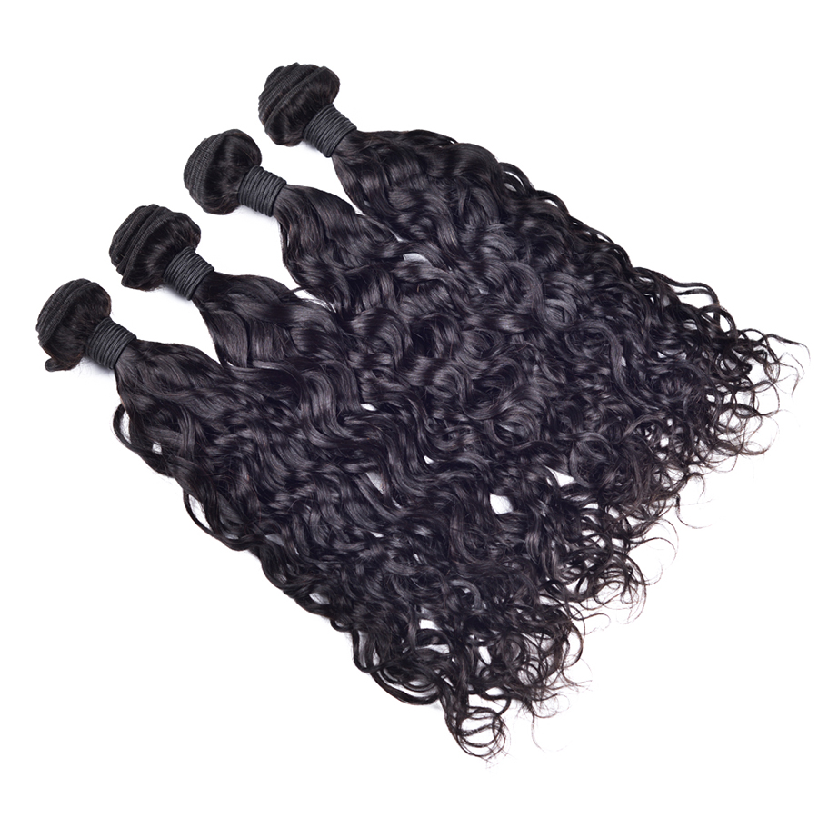 7a unprocessed brazilian natural wave bundles brazilian