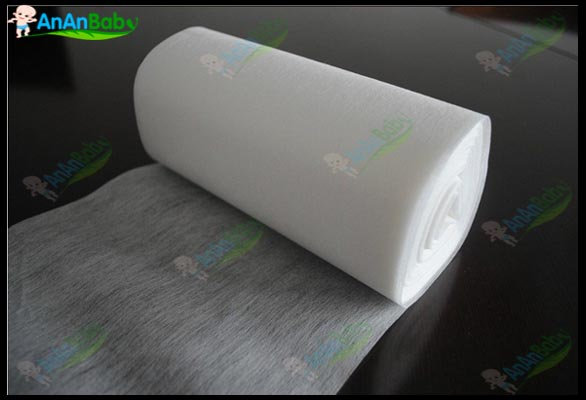 1 Rolls Of 100 Sheets 100% Bamboo Nappy Liners Biodegrable Disposable Nappies Free Shipping
