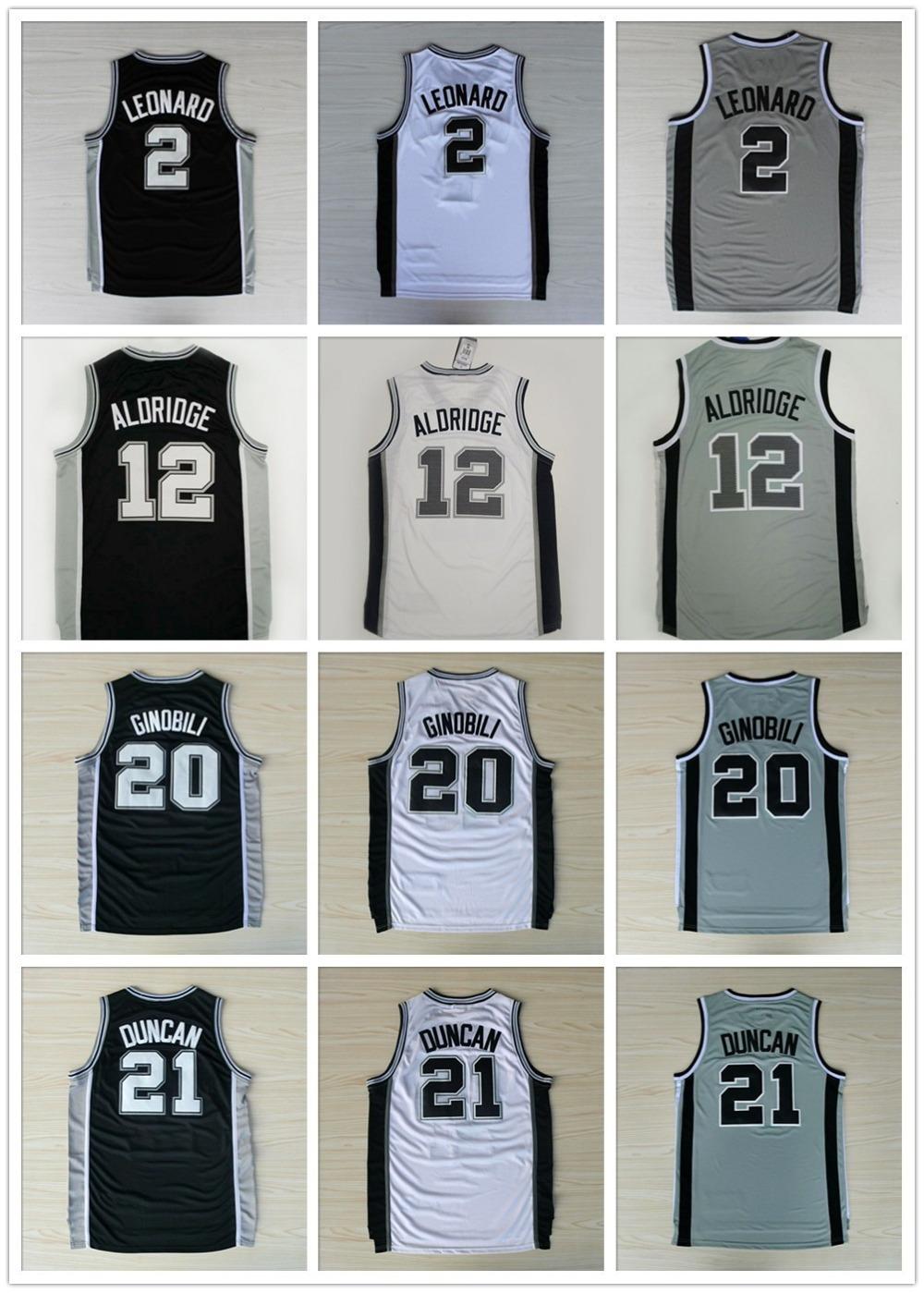 lamarcus aldridge Jersey Cheap Basketball jersey Tim Duncan Jersey Tony Parker Manu Ginobili Kawhi Leonard Jersey(China (Mainland))