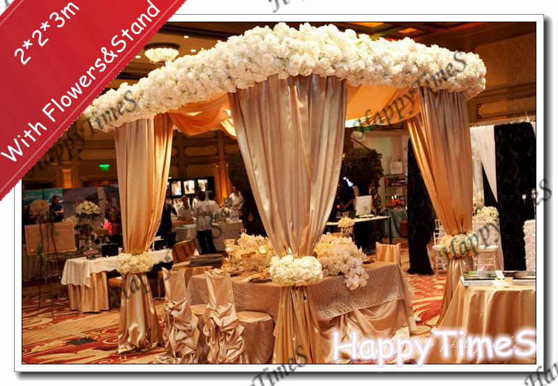n bridal canopy decoration m luxury wedding outdoor decorations canopy curtain - Orange Canopy Decorating