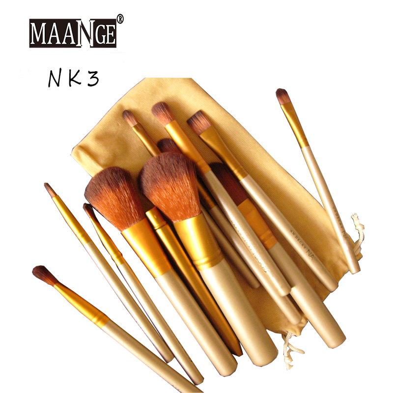 12 Pcs Naked 3 Real Techniques Professional Makeup Brushes Cosmetics Tools Eyeshadow Kit Pinceaux Ma
