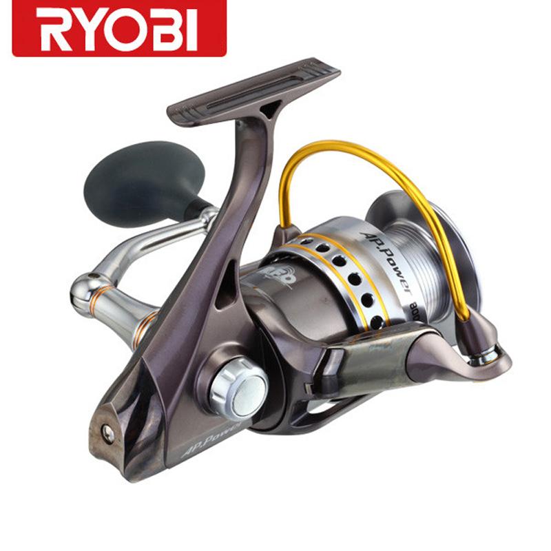 Free shipping ryobi reel ap power 6bb 5 0 1 carretes pesca for Ryobi fishing reel