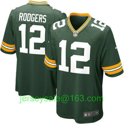 2016 Men Green Bay Packers #12 Aaron Rodgers White #52 Clay Matthews Green 100% Stitched(China (Mainland))