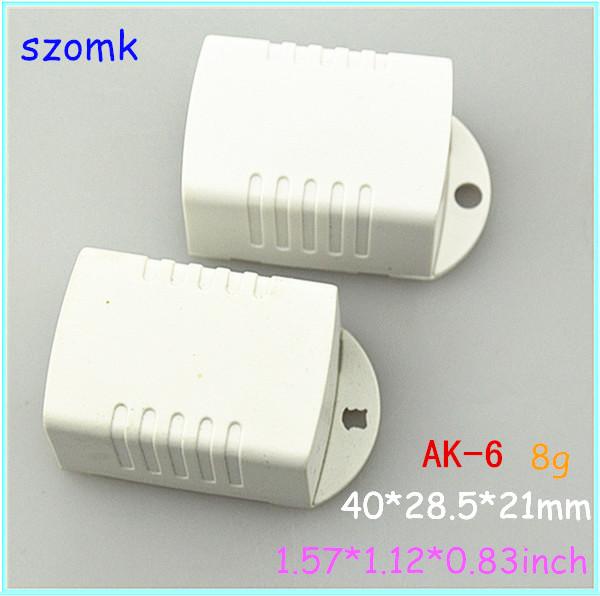 electronics project plastic box (20 pcs) 40*29*21mm diy small LED plastic instrument enclosure, mount box distribution box(China (Mainland))